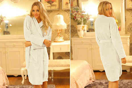 Marcus Emporium - Fluffy Fleece Dressing Gown - Save 76%