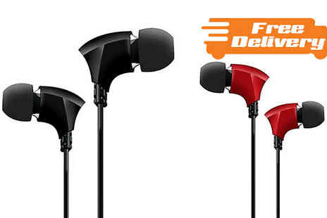 Inspire Tech - Hednoise Apex Earphones Free Delivery - Save 70%