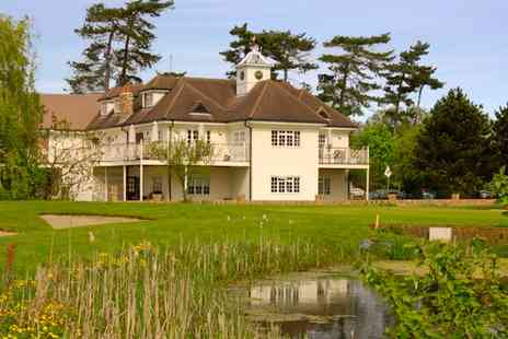 Woolston Manor Golf Club - 18 Holes & Lunch for 2 - Save 52%