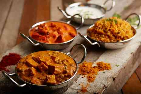 The Grand Durbar Restaurant - Three Course Indian Meal with Sides for Up to Four- Save 0%