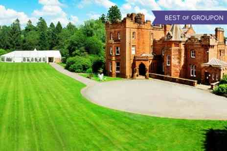 Friars Carse Hotel - One or Two Nights Stay for Two with Breakfast, Dinner and Prosecco - Save 0%