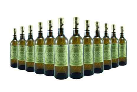 Vineyard Club - 12 Bottles of Chardonnay Wine With Free Delivery - Save 59%