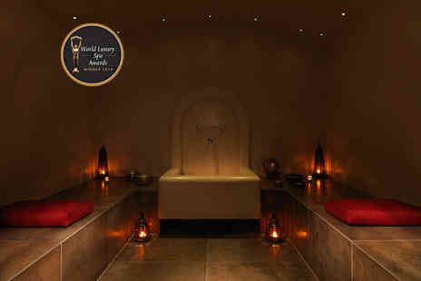 The Spa in Dolphin Square - Moroccan spa experience for two with rhassoul, steam room, relaxation suite access, bubbly and £10 voucher each - Save 50%