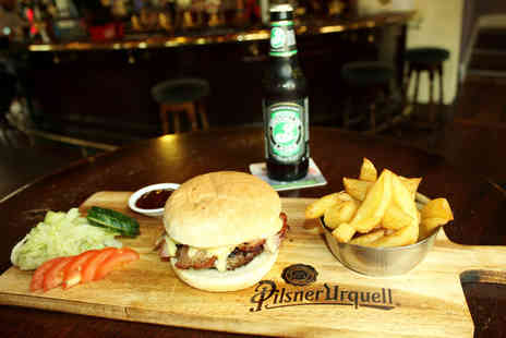 The Bulls Head - Burger and craft beer for two - Save 52%