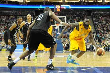 London Lions - Premium basketball ticket to a choice of three London Lions home games - Save 49%