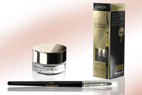 Ckent - 2.8g golden black L Oreal superliner gel intenza - Save 62%