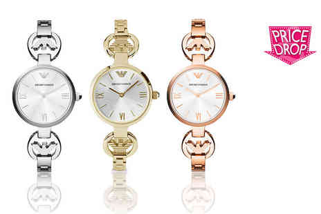 Gray Kingdom - Ladies Emporio Armani watch choose from three colours - Save 60%