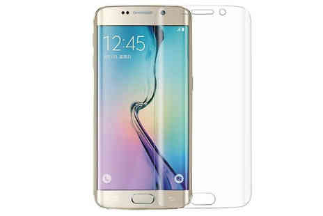 Uk Groupe - Samsung S6 Plus Curved TPU Screen Protector - Save 38%