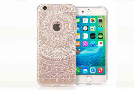 Uk Groupe - Mandala Pattern Case Cover for iPhone 6 or 6S - Save 60%