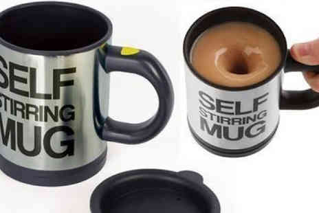 Home Decor Online - Self Stirring Insulated Mug - Save 54%