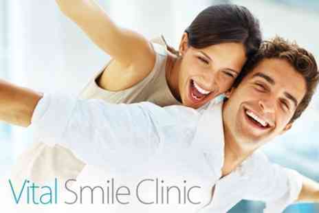Vital Smile Clinic - One Hour Laser Teeth Whitening Treatment for £89 - Save 74%