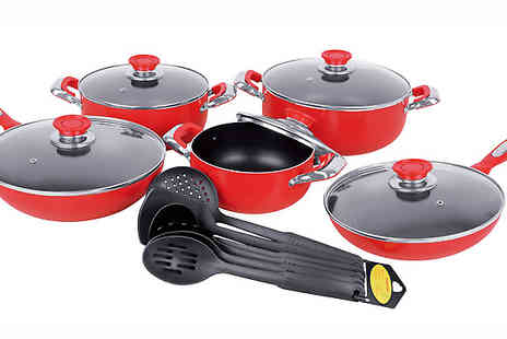 Home Decor Online - 16 Piece Cookware Set - Save 75%