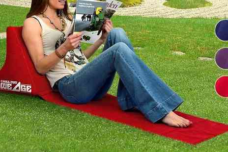 Home and Kitchen Direct - Inflatable Outdoor Chillout Wedge - Save 67%