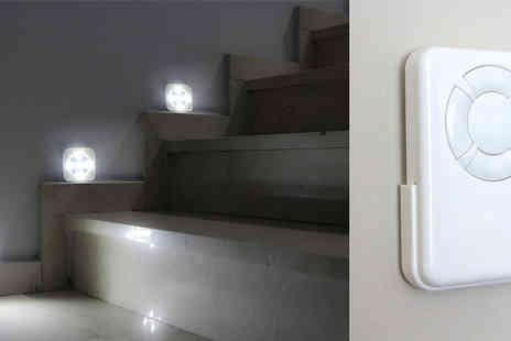 Home and Kitchen Direct - Pack of 3 Wireless Remote Controlled LED Lights - Save 57%