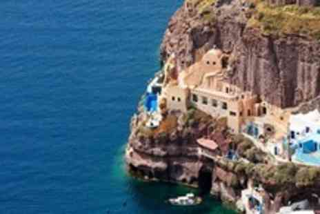 Athina Cliff Side Suites - In Santorini Three Night 4star Stay For Two at the Thalassa Seaside Resort - Save 79%