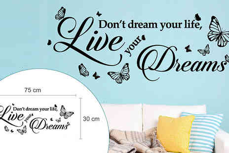 Walplus - Wall Sticker Quotes - Save 33%