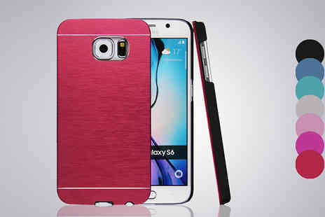 Simply Products - Aluminium Ultra Thin Case for Samsung Galaxy S6 or S6 Edge Seven Colours - Save 41%