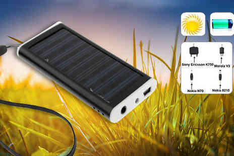 Eurosfield Online Store - Solar Powered Keyring charger - Save 67%