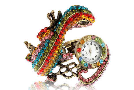 Eurosfield Online Store - Lizard Bangle Watch - Save 45%
