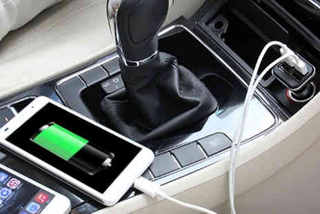 Eurosfield Online Store - 4 Port USB Car Charger - Save 38%