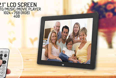Eurosfield Online Store - 12.1 inch Multimedia Photo Frame - Save 30%