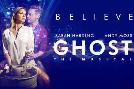 ATG Tickets - Ghost, The Musical starring Girls Aloud's Sarah Harding tickets - Save 42%
