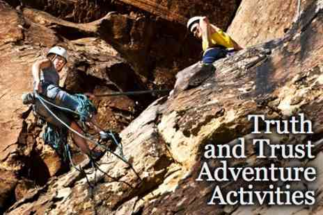 Truth and Trust Adventure - Full Day Outdoor Adventure Experience for £29 - Save 79%