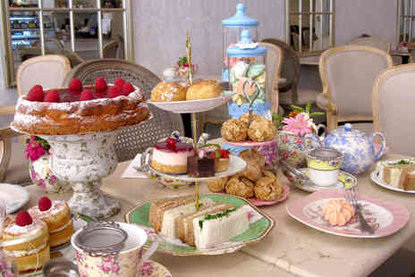 Fait Maison - Regular or gluten free afternoon tea for two - Save 0%