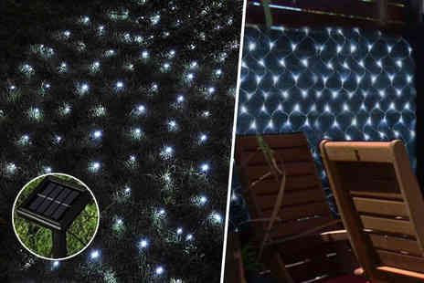 The Plant and Shrub Centre - 105 bulb solar net light - Save 72%