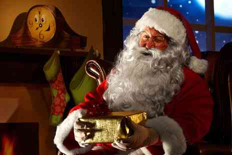 Santa - Live Call and Four Texts from Santa with One Sent on Christmas Morning - Save 32%
