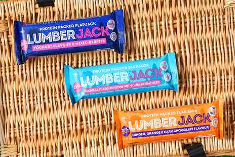 Groupon Goods Global GmbH - 15 Pack LumberJack Gluten Free Protein Packed Bars in Choice of Flavour - Save 0%