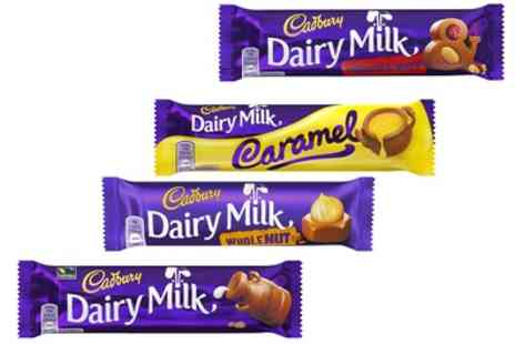 Groupon Goods Global GmbH - 48 Cadbury Chocolate Bars in Choice of Flavours - Save 0%