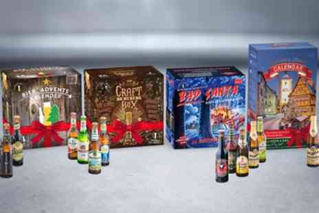 Kalea Germany - Beer Advent Calendars with 24 Beers and Glass With Free Delivery - Save 0%