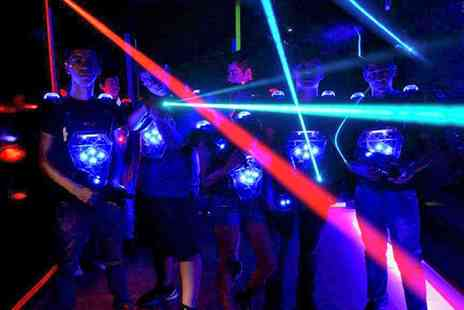 Teamworks Karting - Two Laser Tag Sessions for Up to Four - Save 47%