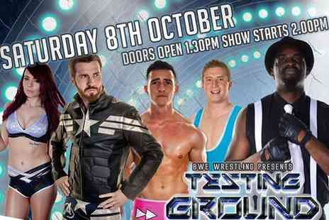 Smashcon & BWE Wrestling - Two or Four Tickets to The BWE 2nd Annual Testing Ground Tournament - Save 0%