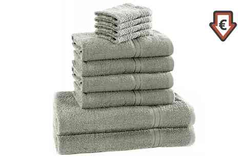 Groupon Goods Global GmbH - Clearance Dickens Ten Piece Towel Bale - Save 0%