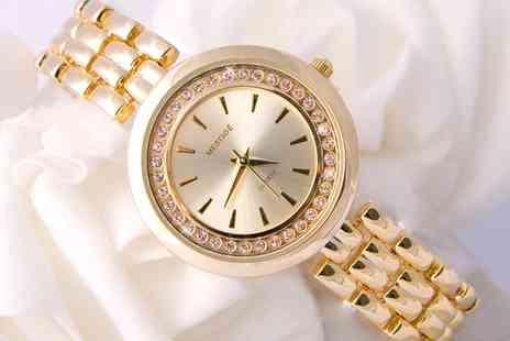 Neverland Sales - Bronte Watches Made with Crystals from Swarovski With Free Delivery - Save 0%
