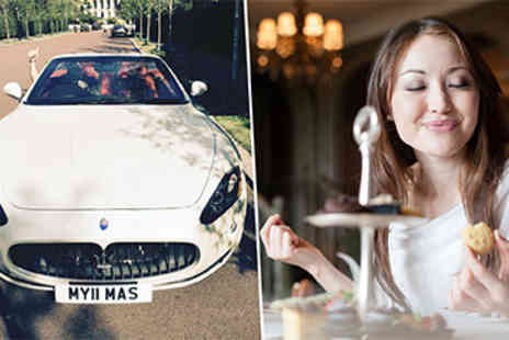 Hyde Park - Maserati Drive and Afternoon Tea for Two - Save 20%
