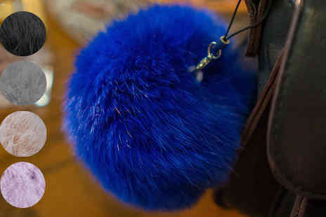 Affinity International - Fluffy Pom Pom Charm in 5 Colours - Save 50%