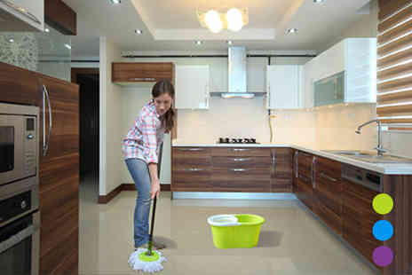 FillMyShelves - 360 Degree Spin Mop - Save 60%