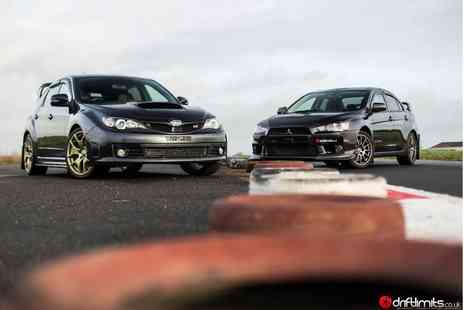 Drift Limits - Subaru Impreza STI vs Mitsubishi Evolution X driving experience - Save 51%