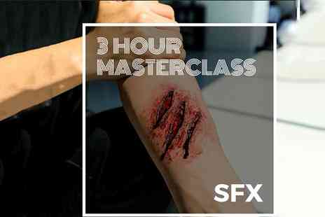 SS Makeup Academy - Three hour Halloween SFX makeup masterclass with a glass of bubbly - Save 86%