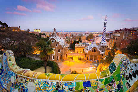 KPX Travel - Two or Three night 4 Star Barcelona spa break including flights - Save 51%