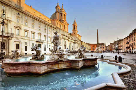 Crystal Travel - Two or Three night 4 Star Rome break including breakfast, flights and a 30 minute treatment - Save 20%