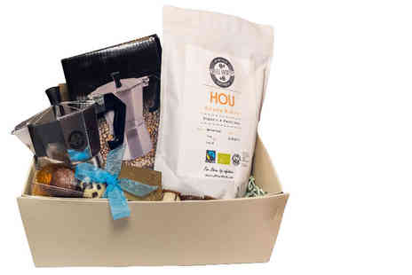 UK Fine Foods - Deluxe coffee and chocolate hamper - Save 67%