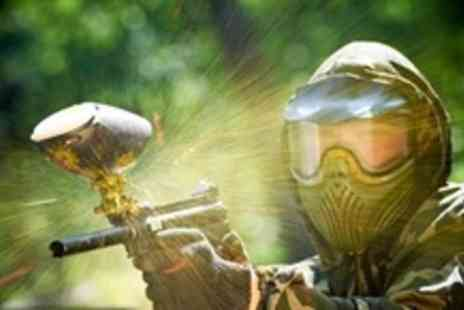 Paint Ball UK - Paintballing For Two With 100 Paintballs Each - Save 85%