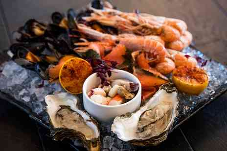 Thistle Kensington Gardens - Seafood Platter with Prosecco for Two or Four - Save 0%