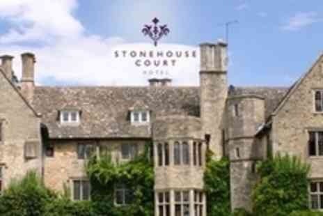 Stonehouse Court Hotel - Wedding Reception Package For 60 Guests With Three Course Breakfast, Drinks and Evening Reception - Save 61%
