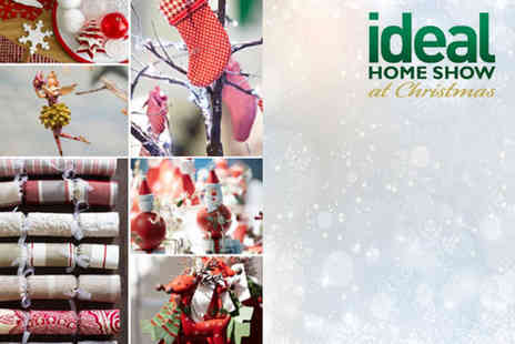 Ideal Home Show - Two weekday tickets to the Ideal Home Show at Christmas plus Ideal Home Magazine - Save 56%