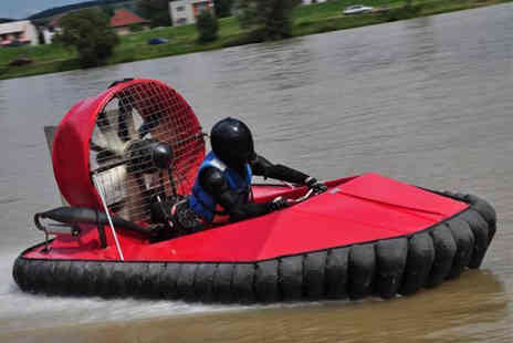 Hoverdays - £29 instead of £79 for a hovercraft driving experience with Hoverdays, Oswestry - save a speedy 63% - Save 63%